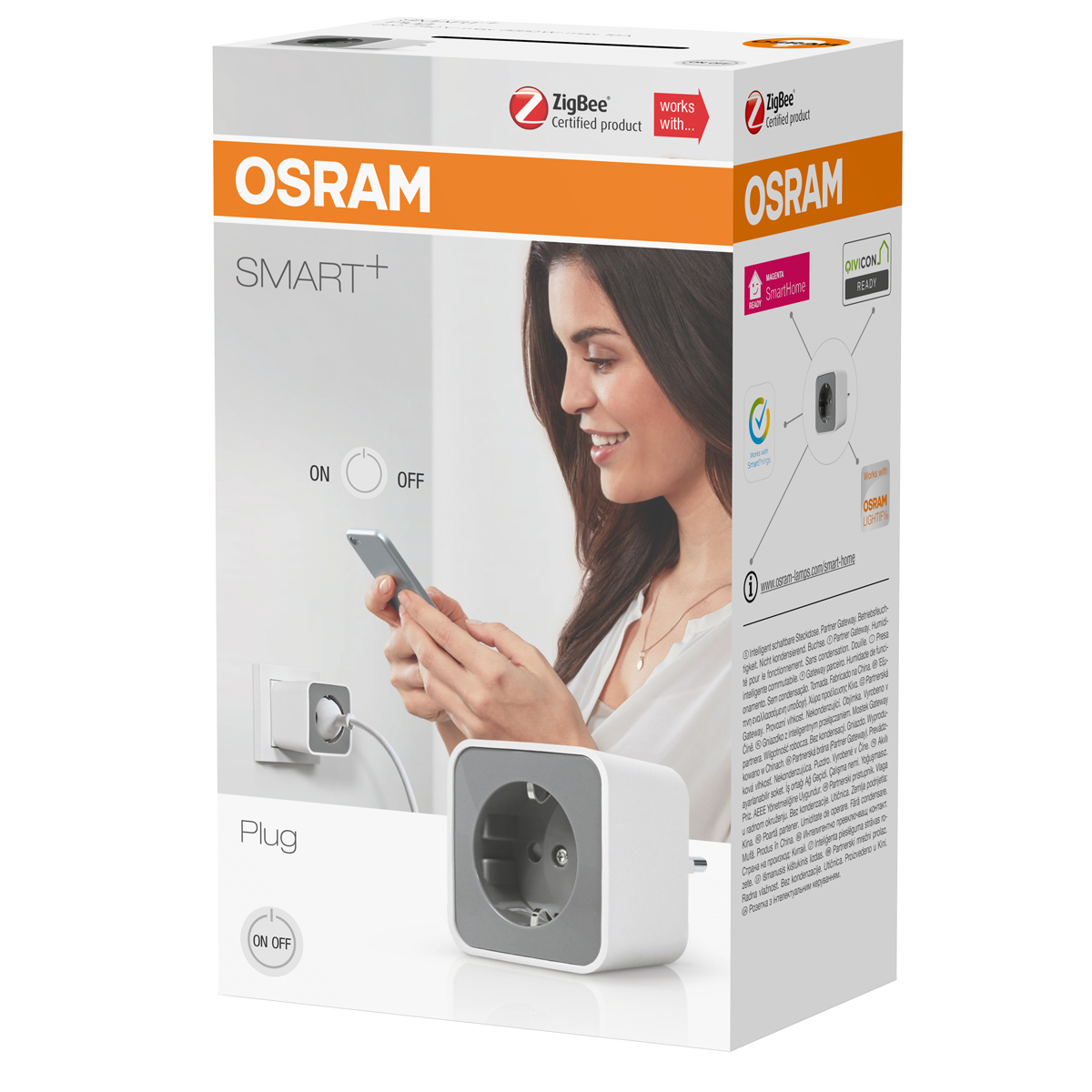 osram smart plug lightify kompatibel smart home steckdose m repeaterfunktion 4058075036239. Black Bedroom Furniture Sets. Home Design Ideas