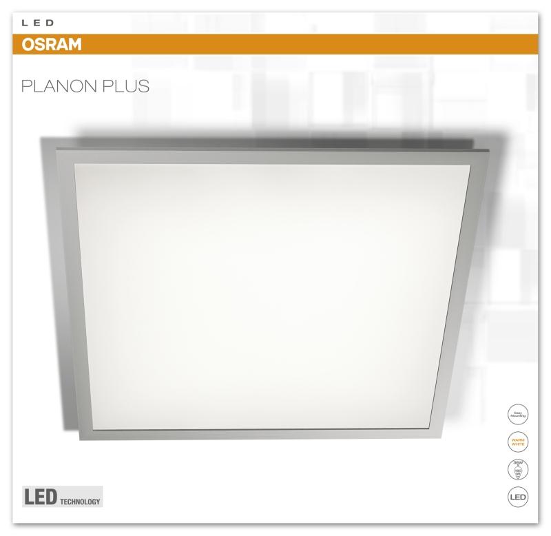 osram planon plus led panel 36 watt 4000k neutral white 3200 lumen 60x60 cm ebay. Black Bedroom Furniture Sets. Home Design Ideas