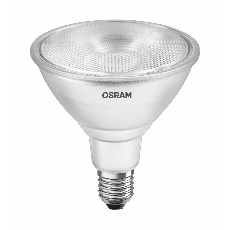 led spot osram e27 14w par 38 116 watt 1000 lumen 30 warmwei dimmbar ebay. Black Bedroom Furniture Sets. Home Design Ideas